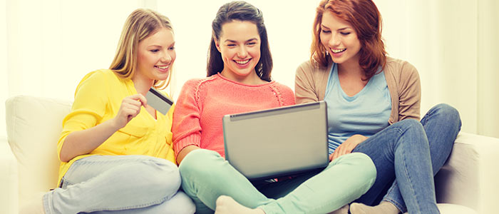 Shoppa på nätet och spel